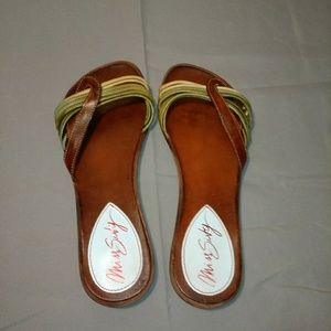 Shoes - Vintage genuine Italian leather Miss Sixty size 7